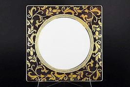 Набор подстановочных тарелок Falkenporzellan TOSCA BLACK GOLD 27 см