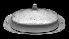 Масленка Bernadotte Платиновый Ободок 21*12 см