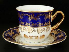 Набор для чая КОНСТАНЦИЯ БУКЕТ  Thun на 6 персон 12 предметов
