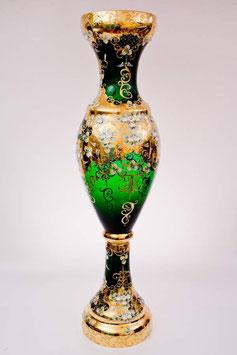 Напольная ваза для цветов ЛЕПКА СМАЛЬТА ЗЕЛЕНАЯ 100 см
