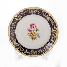 Набор глубоких тарелок Weimar САНКТ ПЕТЕРБУРГ кобальт 24 см ( артикул МН 8176 В )