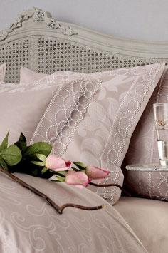 Постельное Белье VALERON SATIN JACQUARD 2 спальное ALLURE Чайная Роза