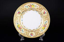 Набор подастановочных тарелок Falkenporzellan VIENNA CREME GOLD 26,5 см