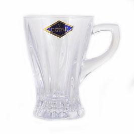 Набор для чая и кофе Bohemia Crystal ПЛАНТИКА на 6 персон