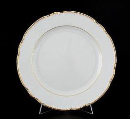 Набор подстановочных тарелок КОНСТАНЦИЯ ЗОЛОТОЙ ОБОДОК Thun 24 см