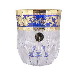 Набор стаканов для виски Bohemia Design АДАЖИО КОБАЛЬТ 350 мл