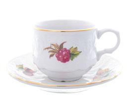 Набор для кофе  Bernadotte ФРУКТЫ на 6 персон 12 предметов