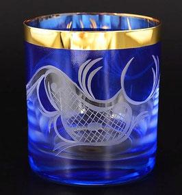 Набор стаканов для виски АЛЕКСАНДРА ВОЛНА Bohemia Crystal 280 мл