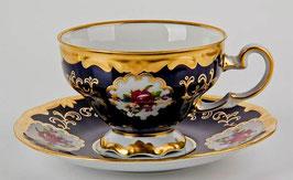 Набор для чая Weimar САНКТ ПЕТЕРБУРГ кобальт на 6 персон 12 предметов ( артикул МН 30189 В )