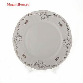Блюдо круглое Bernadotte ПЛАТИНОВЫЙ ЦВЕТОК 30 см
