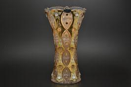 ХРУСТАЛЬ С ЗОЛОТОМ ваза для цветов 35,5 см