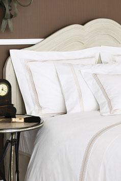 Постельное Белье VALERON PERCAL 2 спальное CASA Белый
