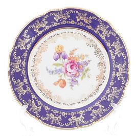 Набор закусочных тарелок КОНСТАНЦИЯ ПОЛЕВОЙ ЦВЕТОК  Thun 21 см