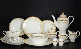Столово-чайный сервиз Midori ЦВЕТОЧНЫЕ МОТИВЫ на 12 персон 79 предметов