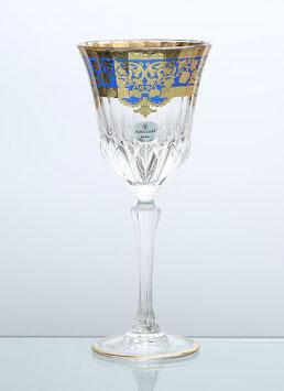 Набор бокалов для вина Astra Gold NATALIA BLUE 220 мл