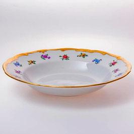 Набор глубоких тарелок Weimar МЕЙСЕНСКИЙ ЦВЕТОК 22 см ( артикул МН 27337 В )