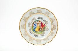 Набор закусочных тарелок  МАДОННА ПЕРЛАМУТР Sterne Porcelan 21 см