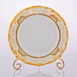 Набор закусочных тарелок Weimar СИМФОНИЯ ЗОЛОТАЯ 19 см ( артикул МН 3220 В )