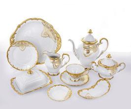 Немецкий чайный сервиз Weimar ЛАКЕ на 12 персон 54 предмета ( артикул МН 46753 В )