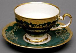 Набор для чая Weimar ЮВЕЛ Зеленый  на 6 персон 12 предметов ( артикул МН 6909 В )