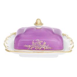 Масленка с крышкой Weimar ЮВЕЛ Фиолетовый 250 г ( артикул МН 54791 В )