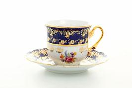 Набор для кофе КОНСТАНЦИЯ ПОЛЕВОЙ ЦВЕТОК  Thun на 6 персон 12 предметов