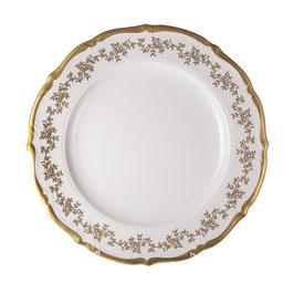 Блюдо круглое МАРИЯ ТЕРЕЗА БЕЛАЯ Bavarian Porcelain 32 см