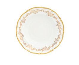 Набор глубоких тарелок Queens Crown ЗОЛОТОЙ ОРНАМЕНТ 23 см