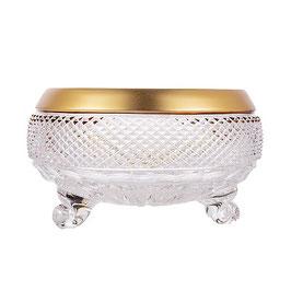 Хрустальный ваза для конфет на трех ножках Union Glass ФЕЛИЦИЯ 20,5 см