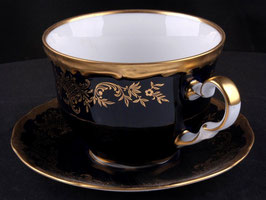 Набор для чая Weimar ЮВЕЛ СИНИЙ 2 предмета ( артикул МН 11269 В )