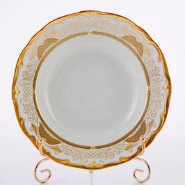 Набор глубоких тарелок Weimar СИМФОНИЯ ЗОЛОТАЯ 24 см ( артикул МН 4472 В )