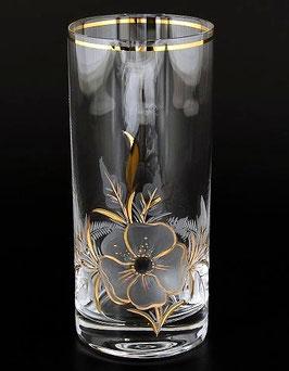 Набор стаканов АЛЕКСАНДРА ЦВЕТОК Bohemia Crystal 300 мл