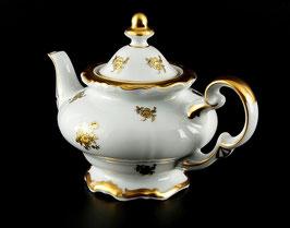 Чайник заварочный Weimar РОЗА ЗОЛОТАЯ 600 мл ( артикул МН 11293 В )