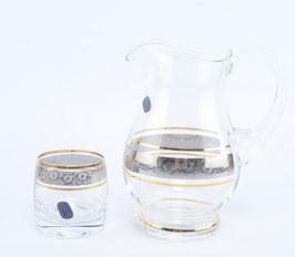 Набор для воды  КЛАУДИЯ Bohemia Crystal 7 предметов