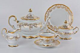 Немецкий чайный сервиз Weimar КАСТЭЛ на 6 персон 21 предмет ( артикул МН 34661 В )