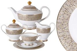 Чайный сервиз Midori ЛЮКСОР на 6 персон 23 предмета