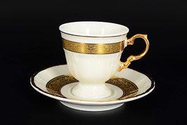 Набор для кофе Thun МАРИЯ ЛУИЗА ИВОРИ на 6 персон 12 предметов