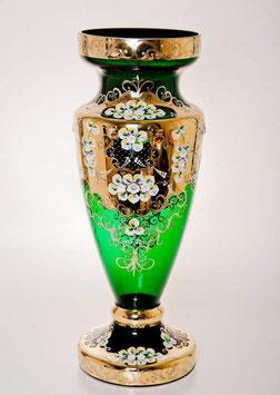 Напольная ваза для цветов ЛЕПКА СМАЛЬТА ЗЕЛЕНАЯ 60 см