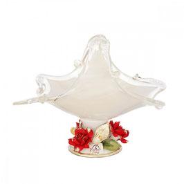 Ваза для конфет White Crystal 16*24*24 см