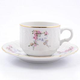 Набор для кофе ЦВЕТЫ Bernadotte на 6 персон 12 предметов