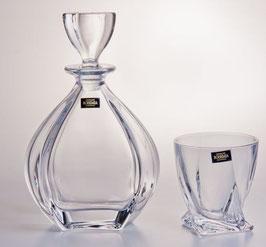 Набор  для виски ЛАГУНА ПРОЗРАЧНЫЙ Bohemia Crystal 7 предметов