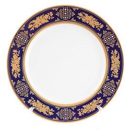 Набор закусочных тарелок Thun МАРИЯ ЛУИЗА РОЗА ЗОЛОТАЯ КОБАЛЬТ 19 см