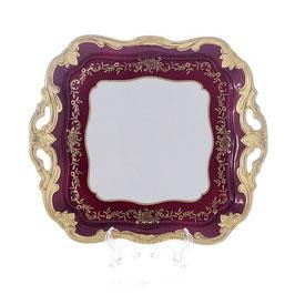 Блюдо квадратное Weimar ЮВЕЛ Красный 21 см ( артикул МН 27359 В )