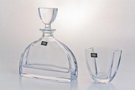 Набор для виски НЕМО ПРОЗРАЧНЫЙ Bohemia Crystal 7 предметов