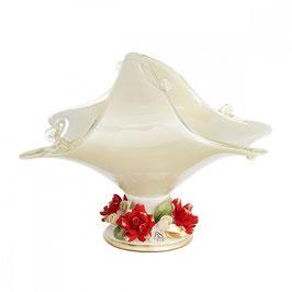 Ваза для фруктов White Crystal ВЕНЕЗИЯ 32*21*29 см