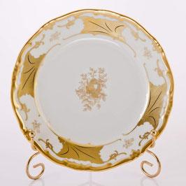 Набор десертных тарелок Weimar КЛЕНОВЫЙ ЛИСТ БЕЛЫЙ 17 см ( артикул МН 263 В )