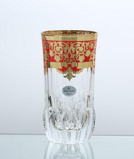 Набор стаканов Astra Gold NATALIA RED 400 мл