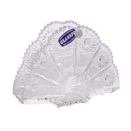 Хрустальная салфетница Bohemia Crystal 14 см