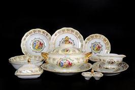 Столовый сервиз  МАДОННА Queens Crown на 6 персон 25 предметов