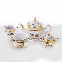 Чайный сервиз Epiag АЛЯСКА БУКЕТ на 6 персон 15 предметов